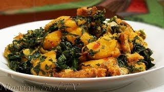Nigerian Plantain Porridge | Nigerian Food TV