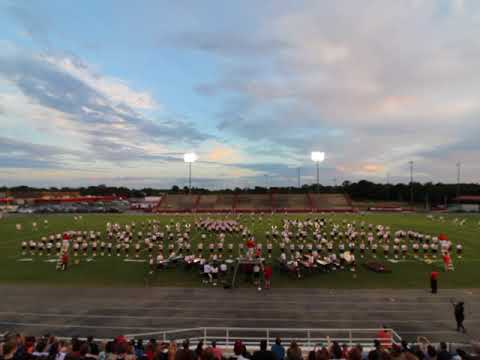 """2018-2019 """"Meet the Band Night"""" - Halftime Show """"Odyssey"""" Opener - 8/3/18"""