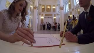 Свадебная церемония в Раменском ЗАГСе - Кирьяновы!!!)))