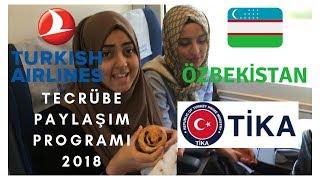 4695 TL'lik Özbekistan biletimi nasıl bedavaya aldım?Teşekkürler #THY #TİKA -TASHKENT/SEMERKAND VLOG