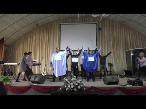 Видео: Церква Любов  Зцлення Сценка реб  центру 13112016