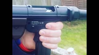 Umarex mp40 air rifle firing .177 rifle