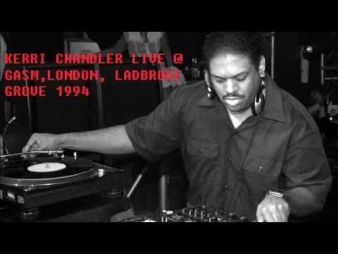 Kerri Chandler live @ GASM, London, Ladbroke Grove 1994