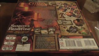 unboxing of Caverns of Cynder for shadows of brimstone