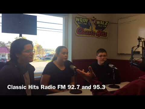 Calais High School  Veterans Day Assembly 2017 Radio Interview
