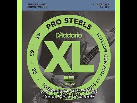 DAddario EXL220 Set Corde Basso EXL