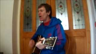 The Jam - Down in the Tubestation at Midnight (acoustic cover). Paul Weller