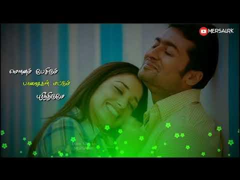 Vizhi Moodi Yesithal   Tamil Love WhatsApp Status   Ayan   Lyrical video   MersalRK