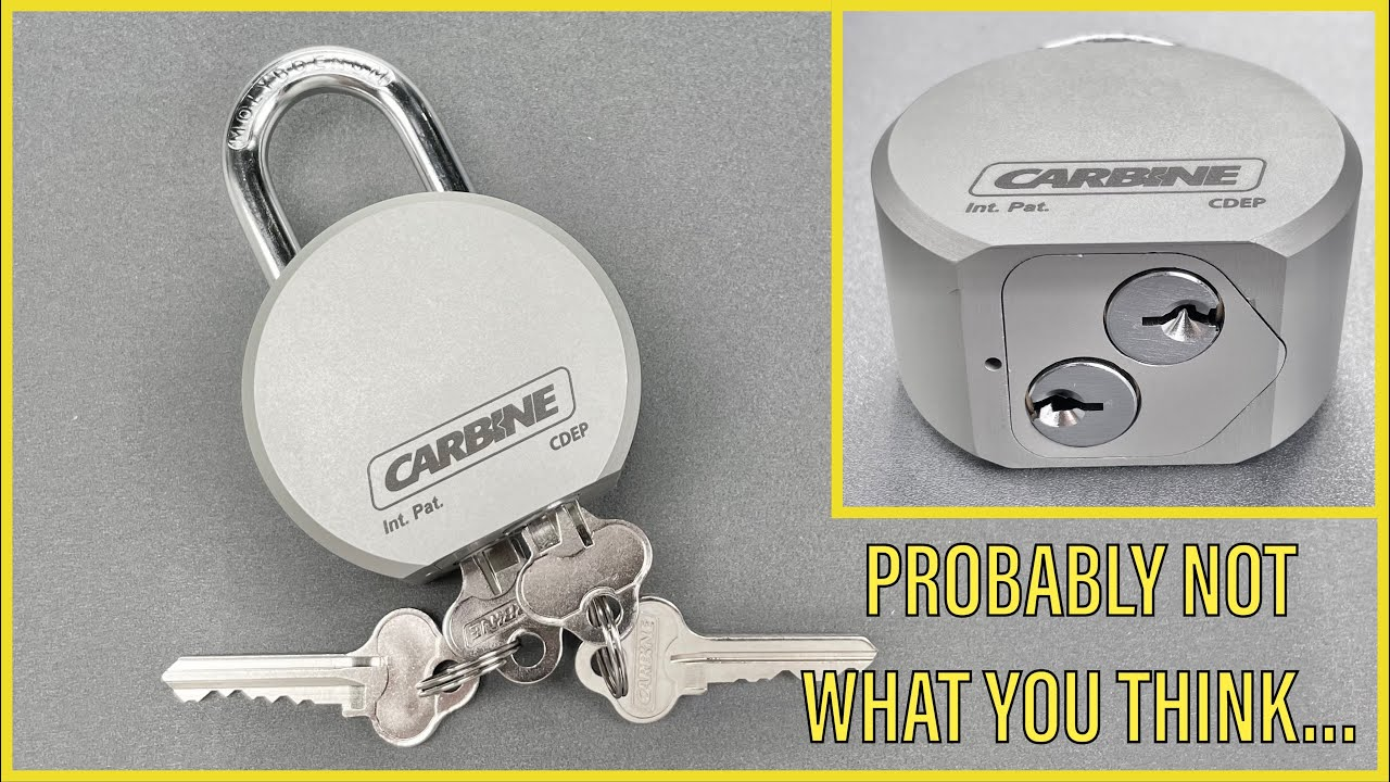 Download [1360] Carbine Dual Entry Padlock Picked