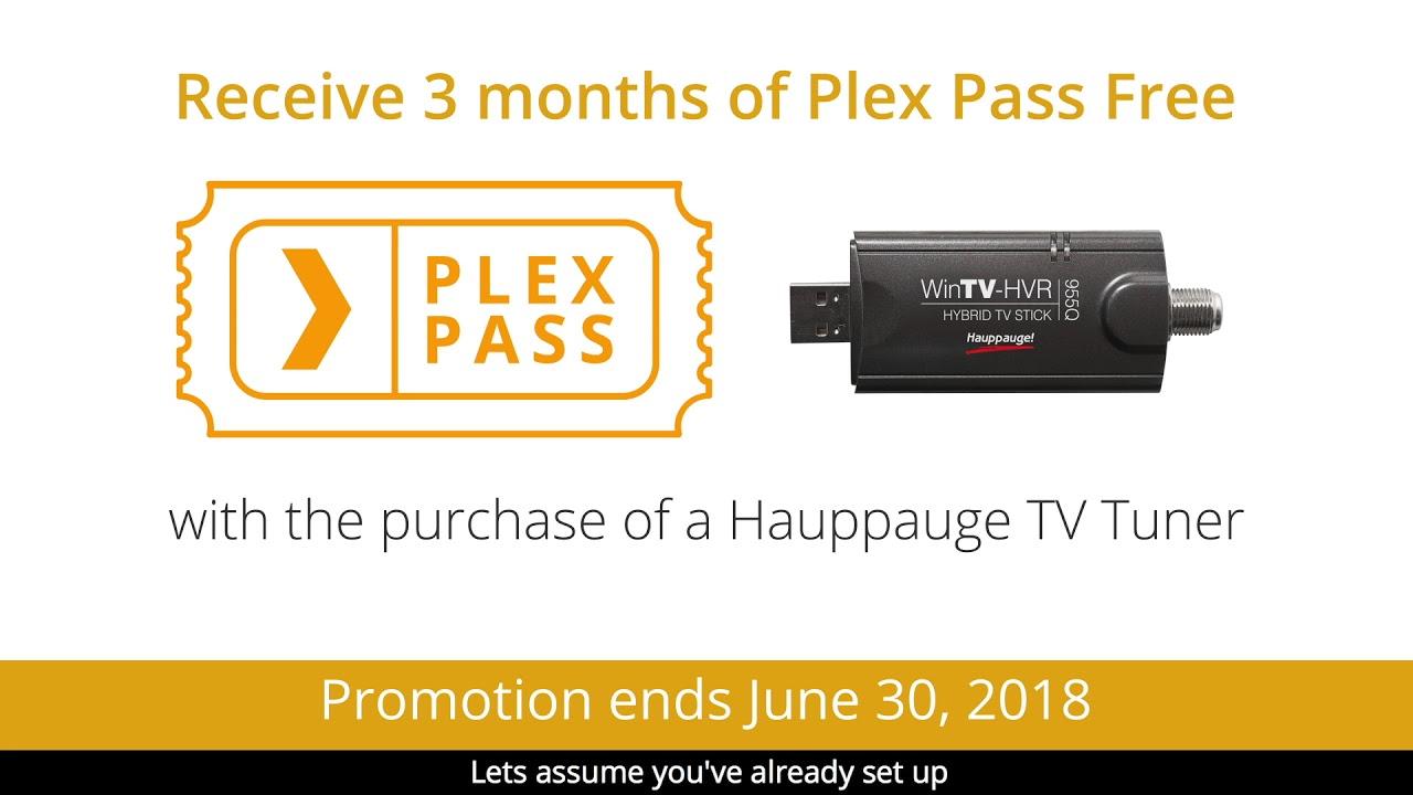 Plex and Hauppauge - DVR Quick Tips