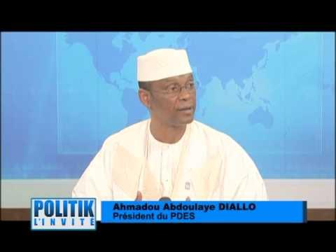 AHMADOU ABDOULAYE DIALLO PRESIDENT DU PDES SUR AFRICABLE