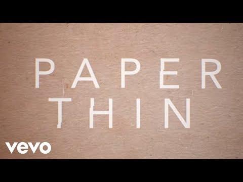 Astrid S  Paper Thin Lyric