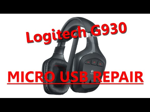How To Repair Micro USB Connector on Logitech G930