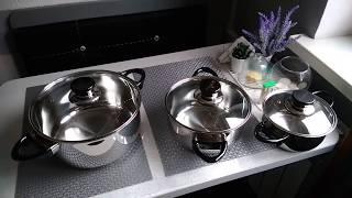 Обзор  Набор посуды BergHOFF Vision Prima из 6 предметов из Rozetka
