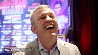 Teddy Atlas reflects on telling Jeff Horn he lost