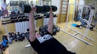 #Пожми100кг Тренировка №2 Лесенка