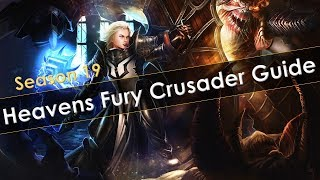 Diablo 3 Heavens Fury Crusader Solo, RGK and Speed Meta Build Guide