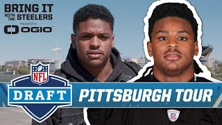 First-Round Pick Devin Bush arrives in Pittsburgh, tours city   Pittsburgh Steelers