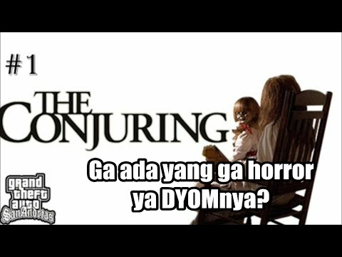 GTA ada Valak! The Conjuring 1 | Grand Theft Auto Extreme Indonesia(DYOM)