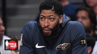 Anthony Davis has a short list of teams he wants to join - Woj | Stephen A. Smith Show