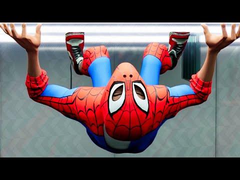 Miles Gets Invisible Scene - SPIDER-MAN: INTO THE SPIDER-VERSE (2018) Movie Clip