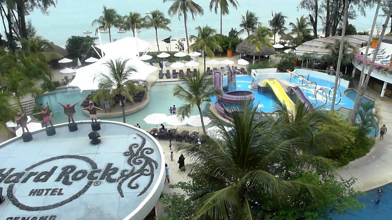 Hardrock hotel penang swimming pool a video tour - Hard rock hotel penang swimming pool ...