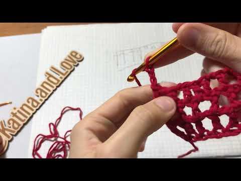 Хочу вязать с чего начать 8 Ч. Филейное вязание для начинающих