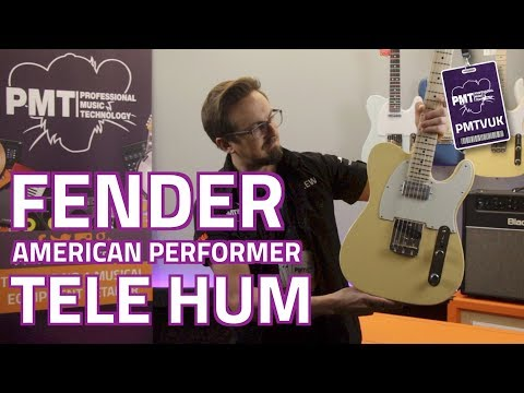 Fender American Performer Telecaster Humbucker - Review & Demo