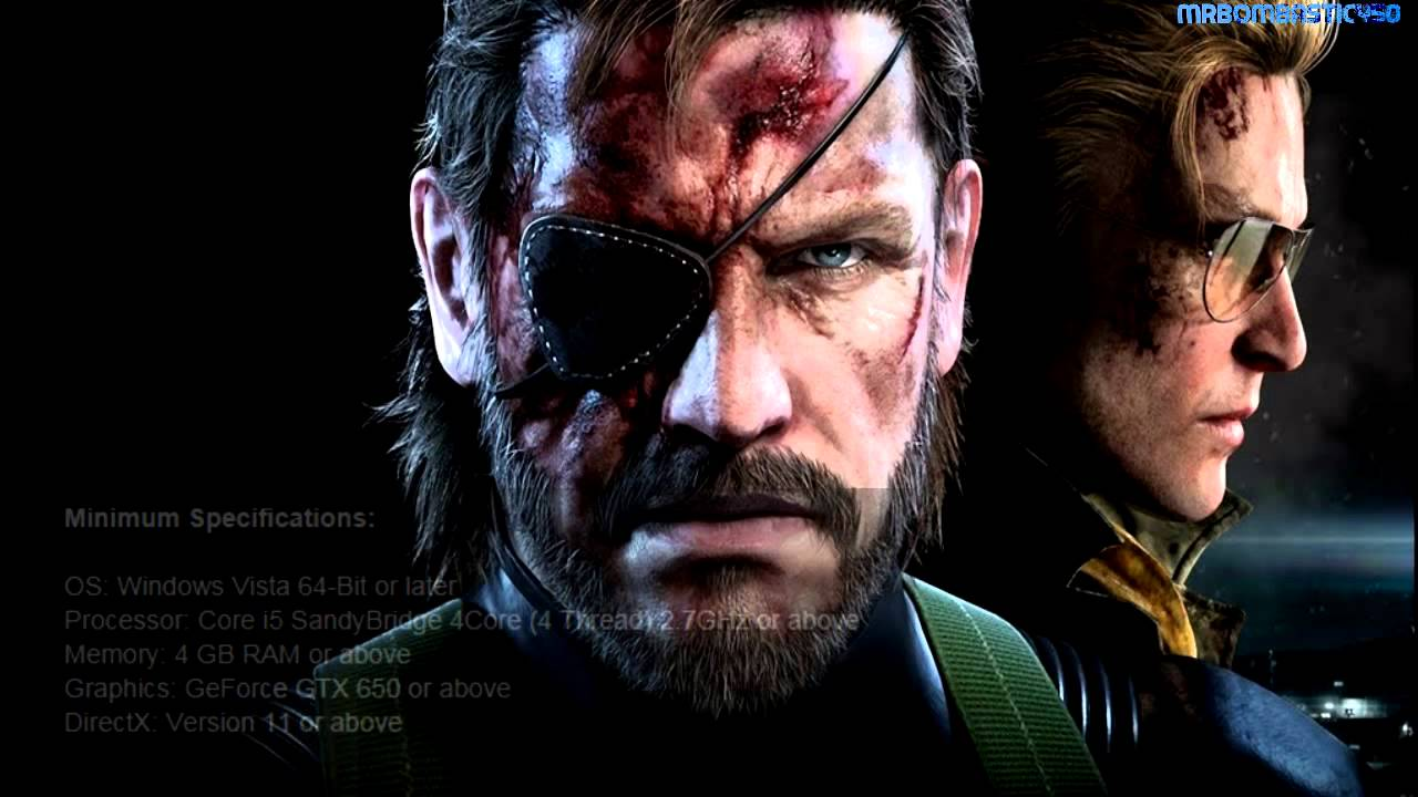 Metal Gear Solid Ground Zero PC System Requirements