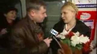 Юлия Тимошенко в Киевском Метро