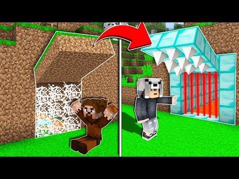 FAKİR TUZAK GEÇİT VS ZENGİN TUZAK GEÇİT! 😱 - Minecraft