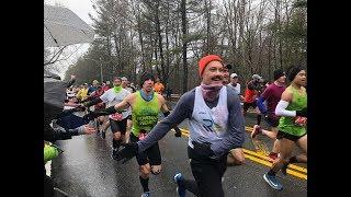 Boston Marathon: What it's like for runners running through the Scream Tunnel