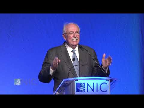 Conference Luncheon Speaker Ian Morrison at the 2019 NIC Spring ...