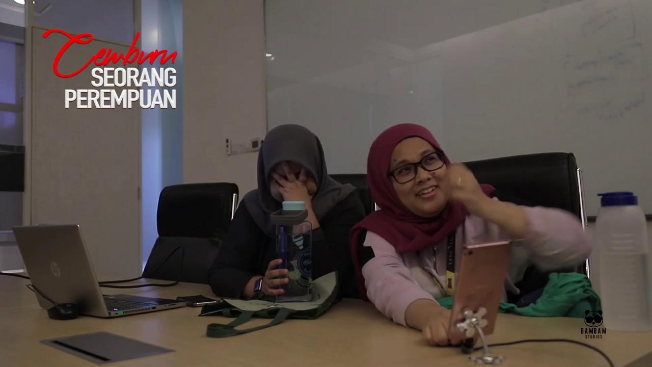 Reaction CikBam - Cemburu Seorang Perempuan episod 18.