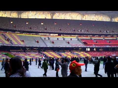 Beijing, Bird's Nest Stadium, Interior
