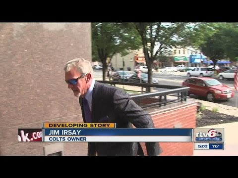 Colts owner Jim Irsay pleads guilty to misdemeanor OWI charge