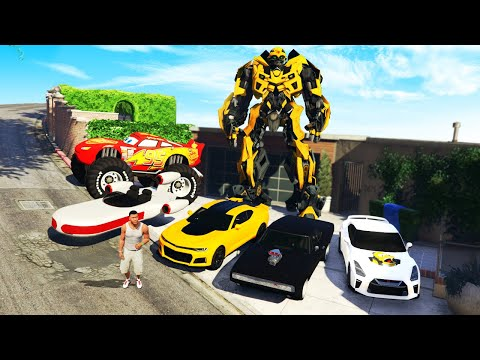 GTA 5 - Collecting FAMOUS SECRET Movie Cars!