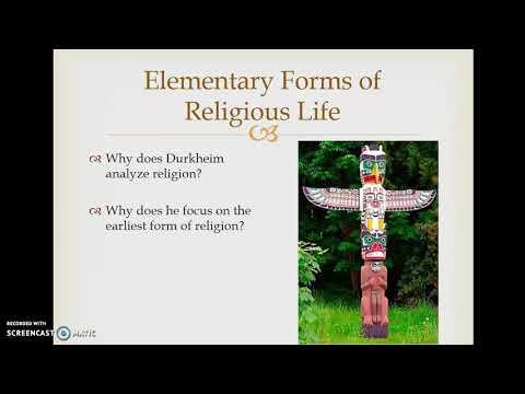 4 Durkheim on Religion