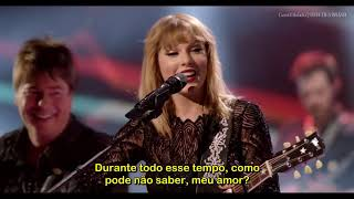 Taylor Swift You Belong With Me Legendado PT-BR Live Super Saturday Night | SWIFTIES BRASIL