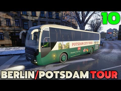 Fernbus Coach Simulator Let's Play - City Tour Bus - Berlin & Potsdam - #10
