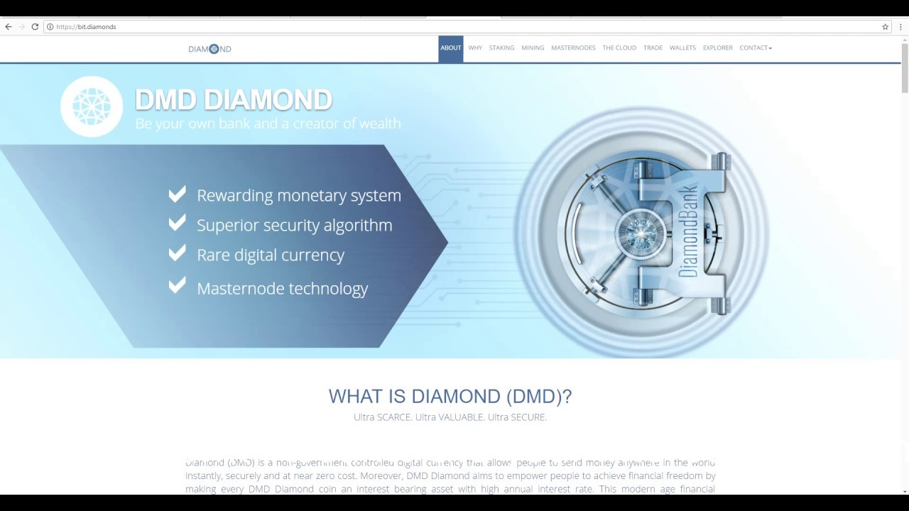 Best Masternode Crypto How Many Coins Are Needed For Diamond Pos ...