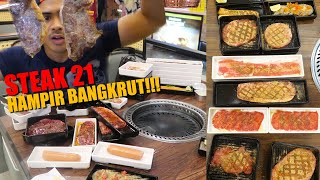GAK BOHONG!!! MUKBANG STEAK ALL YOU CAN EAT SEPUASNYA!!