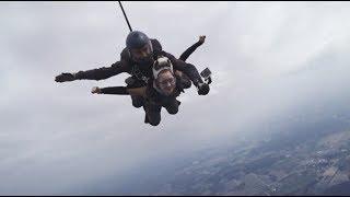 Я прыгала с парашютом? // коротко о моем дне рождения