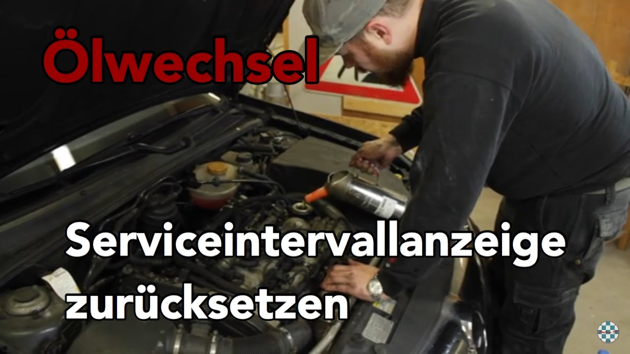 Olwechsel Inspektion Serviceintervallanzeige Zurucksetzen Opel