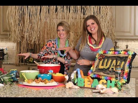 Pork and Pineapple Luau Kabobs - Crockin' Girls