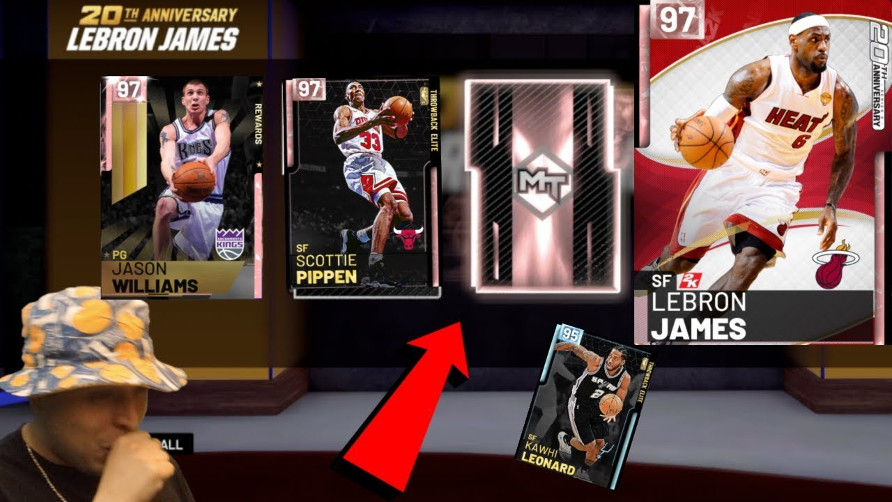 2b1736fe4137 PINK DIAMOND LEBRON JAMES AND PINK DIAMOND SCOTTIE PIPPEN PACK OPENING NBA  2K19