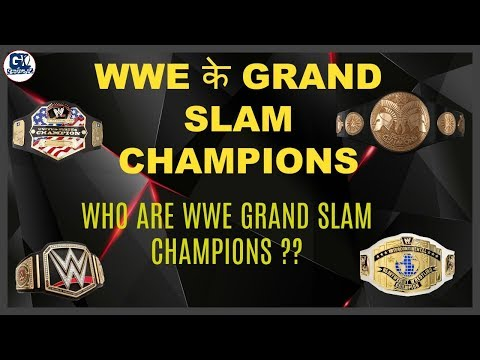 WWE Grand Slam Champions Superstar in WWE History ??
