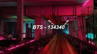 BTS (방탄소년단) '134340' Easy Lyrics