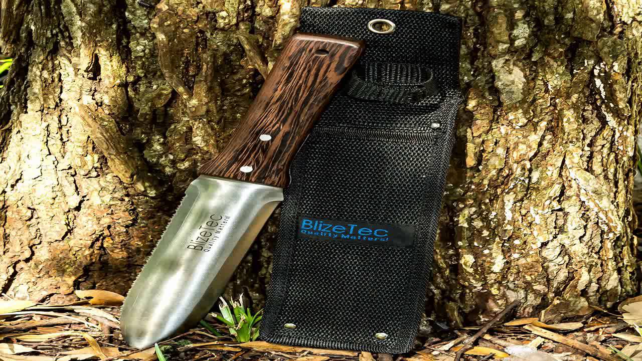 Japanese Hori Hori Knife. Perfect Tool For Gardening Weeding Landscaping Di