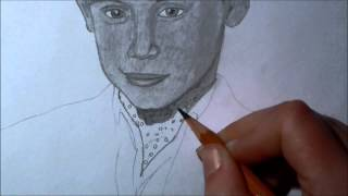Me drawing Macaulay Culkin (Richie Rich)